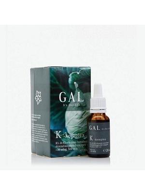 GAL K-komplex  folyékony vitamin, 500 mcg K-komplex