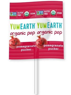 YUMEARTH organikus nyalóka gránátalma