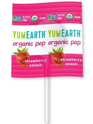 YUMEARTH organikus nyalóka eper