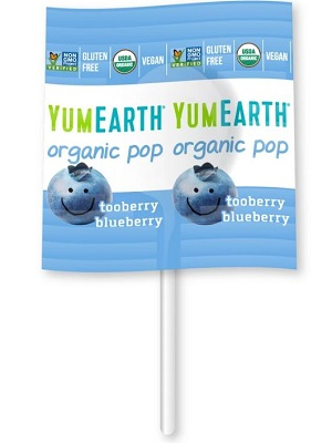 YUMEARTH organikus nyalóka kék áfonya