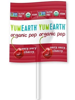 YUMEARTH organikus nyalóka cseresznyés
