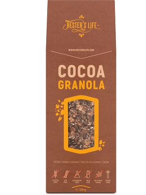 Hesters life kakaós granola 320g
