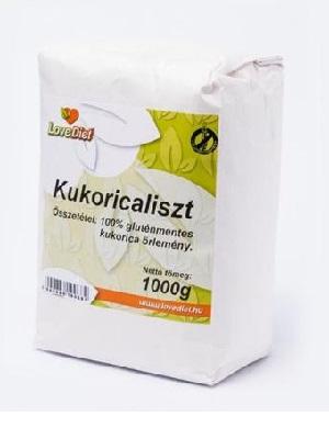 Love Diet gluténmentes kukoricaliszt 1kg