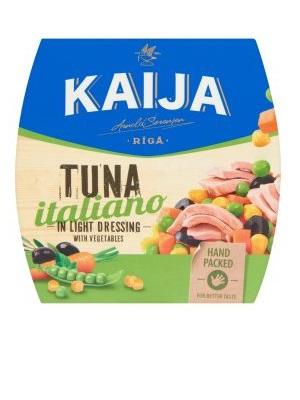 KAIJA olaszos tonhalsaláta 185g