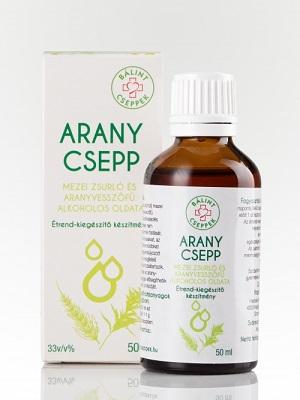 Balint-cseppek-Arany-csepp-50ml