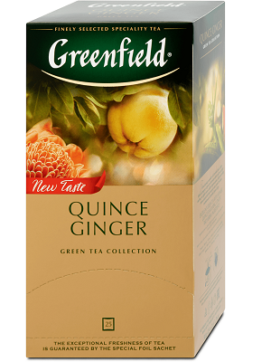 Greenfield quince ginger tea 50g