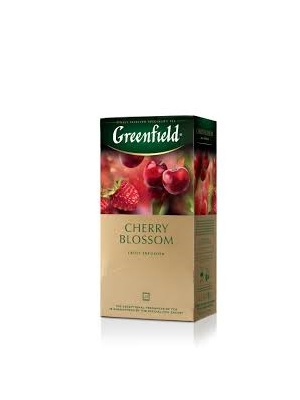 Greenfield cherry blossom tea 25 filter 50g