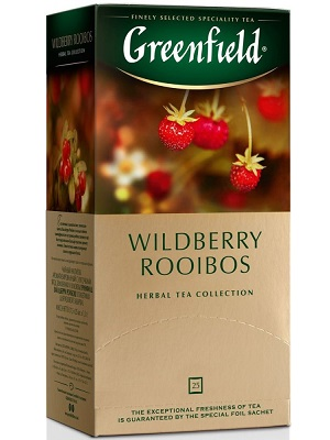 Greenfield wildberry rooibos tea 25filter 37,5g