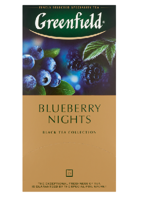 Greenfield Blueberry Nights 25filter 37,5g