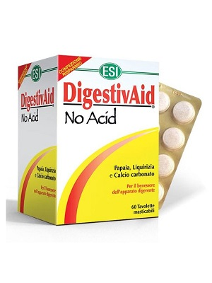 ESI No Acid - Stop a savaknak! lúgosító-savlekötő tabletta 60 db