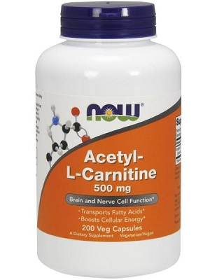 Now Acetyl-L Carnitine 500mg kapszula 50db