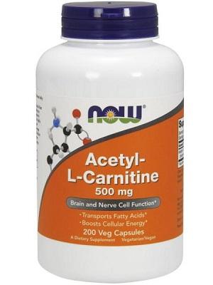 Now-Acetyl-L-Carnitine-500mg-kapszula-50db