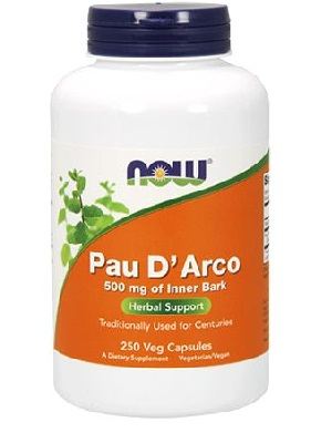 Now Pau D'Arco kapszula 100 db, 500 mg