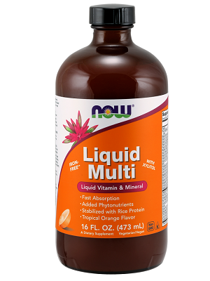 Now Liquid multi narancs 473ml