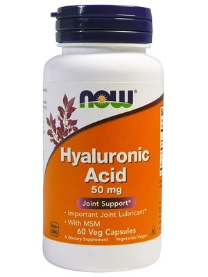 Now Hyaluronic Acid 50mg