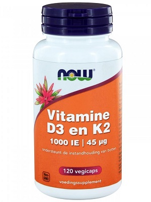 Now D3 K2 vitamin 120 tabletta