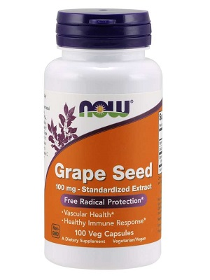 Now Grape seed 60mg
