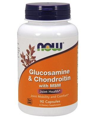 Now  Glucosamine, Chondroitin 90caps