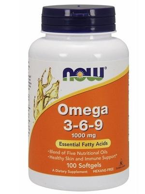 Now omega 3-6-9 1000mg