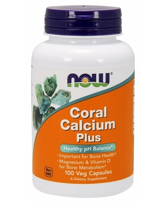Now Coral calcium plus 100db