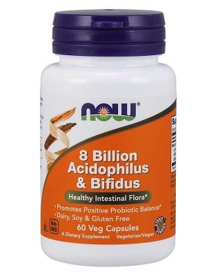 NOW Acidophilus bifidus 8b/60db