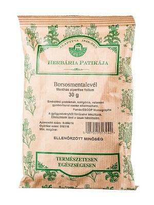 Herbária borsmentalevél szálas 30g