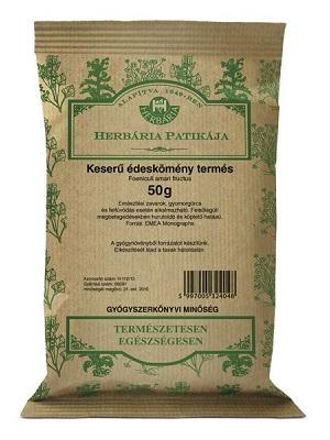 Herbária keserű édeskömény termés 50g