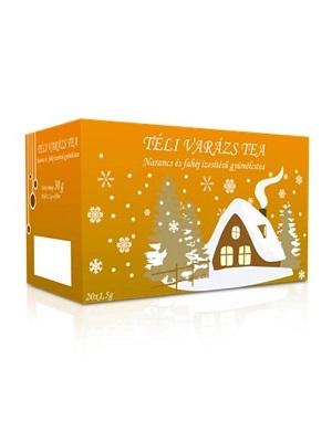 Téli varázs narancs-fahéj tea 20db