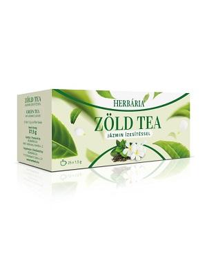 Herbária Zöld jázmin tea filteres 25db