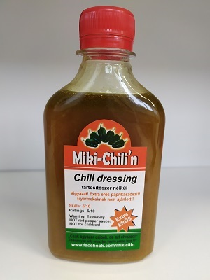 Miki Chili n 6/10 dressing zöld