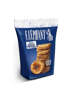 Elephant chips tallér, sós 80g
