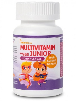 Netamin Junior multivitamin 30db