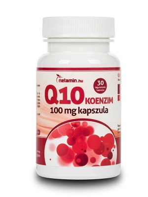 Netamin Q10 koenzim 100mg 30db