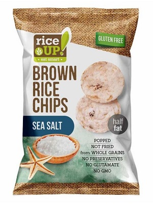 Rice up barnarizs chips tengeri sós 60g