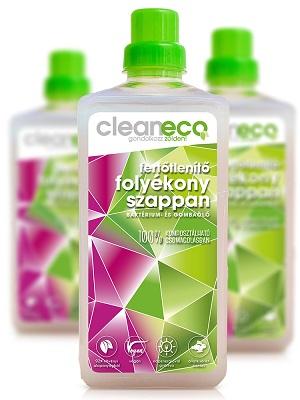 CleanEco Fertőtlenítő folyékony szappan 1l