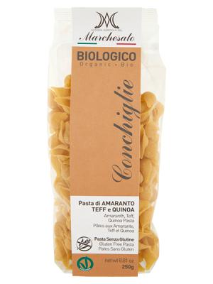 Biologico Amarant Teff Quinoa tészta gluténmentes 250g