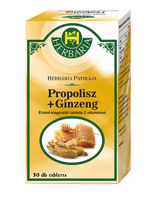 Herbária propolisz + ginzeng 30db