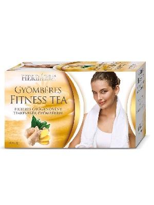 Herbária gyömbéres fitness tea 20db