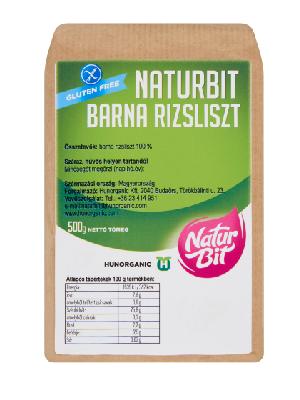 NATURBIT-GLUTENMENTES-BARNA-RIZSLISZT-500G
