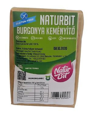 Naturbit burgonya keményítő gluténmentes  500g