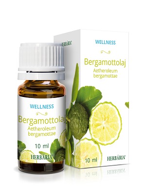 Herbária Wellness bergamottolaj 10ml