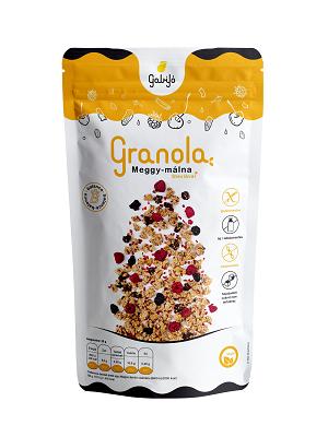 Gabijó granola meggy málna 275g