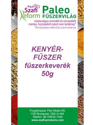 Szafi Reform kenyérfűszer fűszerkeverék 50g