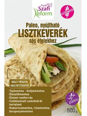 Szafi Reform Paleo nyújtható lisztkeverék sós ételekhez 500g
