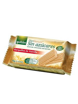Gullon cukormentes nápolyi vaníliás 60g