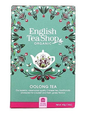 English Tea Shop Oolong bio tea 40g (20filter)