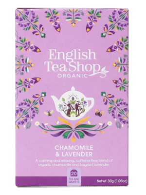 English Tea Shop Kamilla és levendula tea 40g (20filter)