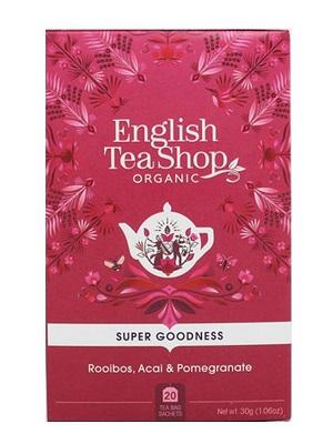 English Tea Shop Roobios bio tea acai bogyóval és gránátalmával 40g (20 filter)