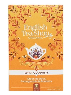 English Tea Shop zöld roobios bio tea, gránátalmával és áfonyával 40g (20filter)