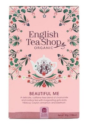 English Tea Shop wellness beautiful me bio tea 40g (20filter)